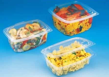 Vaschette e contenitori per caldo in polipropilene
