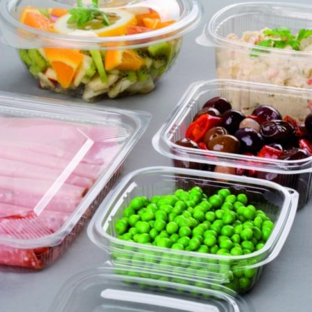 Vaschette e contenitori per freddo in OPS e PET